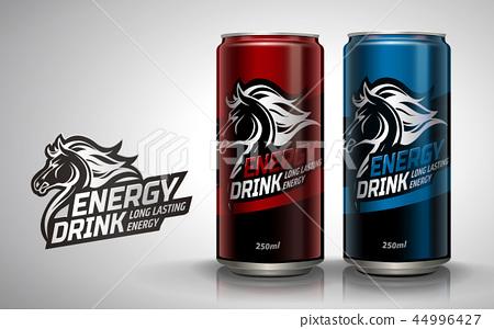 Energy drink mockup 44996427