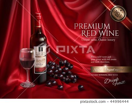 Premium wine ads 44996444
