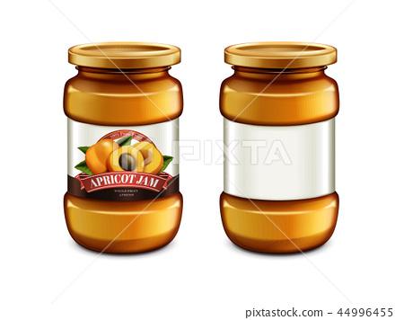 Apricot Jam glass jar 44996455