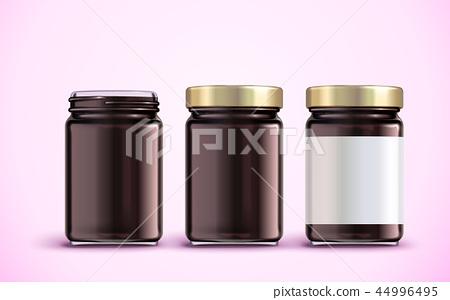 Jam jar package design 44996495