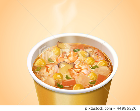 Seafood Cup Noodles 44996520