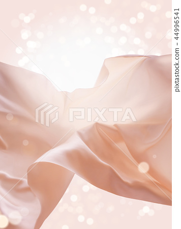 Pink floating fabric 44996541