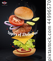 Jumping Burger ads 44996570
