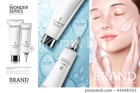 Skincare cosmetic ads 44996583