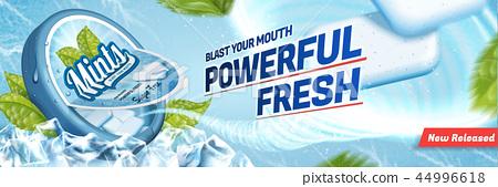 Mints gum ads 44996618