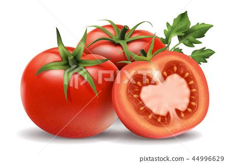 Fresh tomatoes elements 44996629