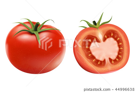 Fresh tomatoes elements 44996638