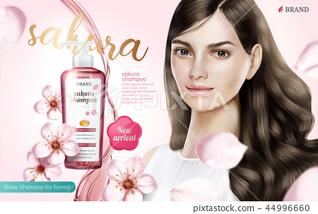 Shampoo product ads 44996660