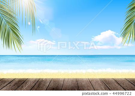 Summer resort landscape 44996722