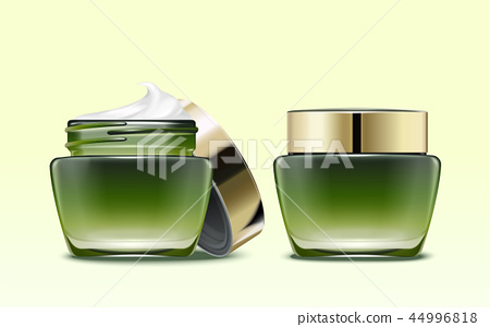 Cosmetic product package mockup 44996818