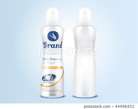 Deodorant spray bottle mockup 44996852