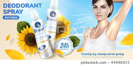 Deodorant spray ads 44996855