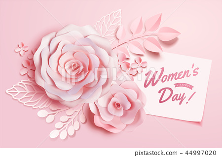 Women's Day floral decorations 44997020