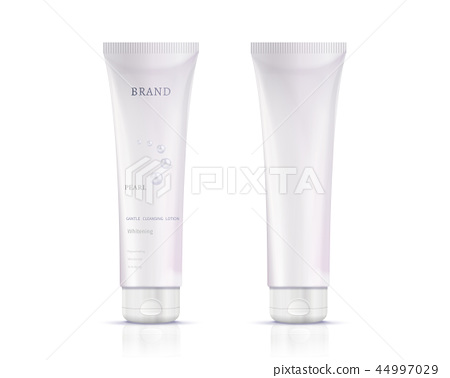 Cosmetic plastic tube container 44997029