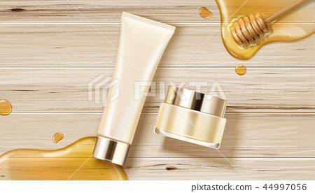 Honey skincare containers 44997056