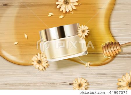 Honey skincare cream jar 44997075