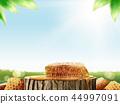 Honeycomb and pure honey 44997091
