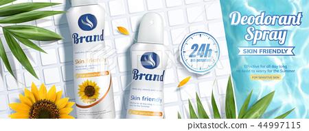 Deodorant spray banner ads 44997115