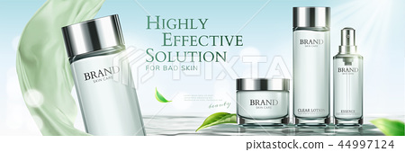 Skincare banner ads 44997124