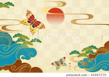 Japanese style background 44997270