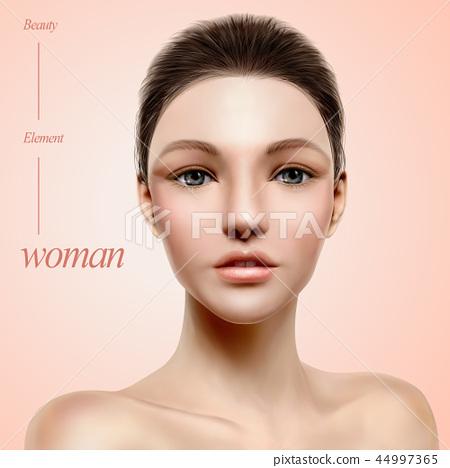 Charming model portrait 44997365