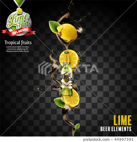 Lime beer element 44997391