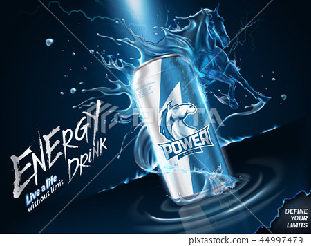 Impressing energy drink ads 44997479