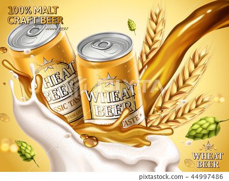 Wheat beer ads 44997486