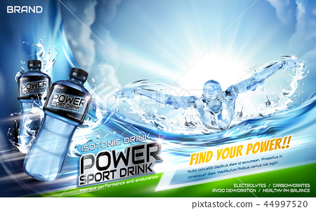 Sport drink ads 44997520