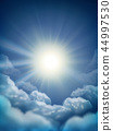 Sunny sky background 44997530