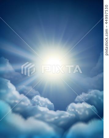 Sunny sky background 44997530