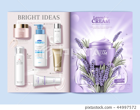 Cosmetic magazine brochure 44997572