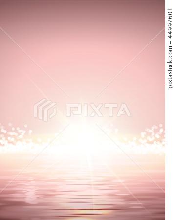 Elegant Sun rise scene 44997601