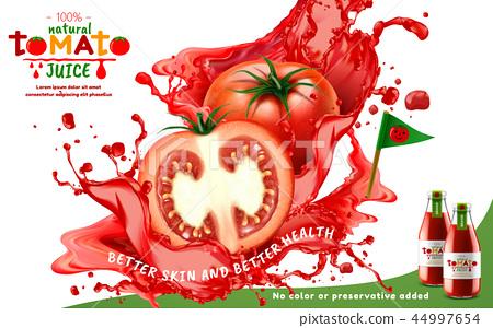 Tomato juice ads 44997654