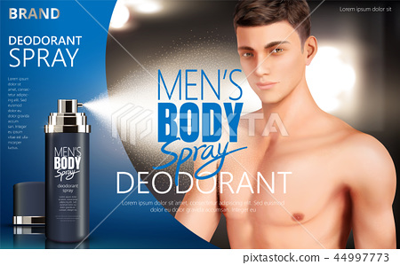 Deodorant spray ads 44997773