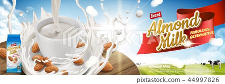 Almond milk ads 44997826