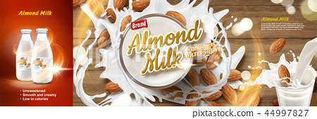 Almond milk ads 44997827