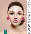 Flamenco dancer model 44997835