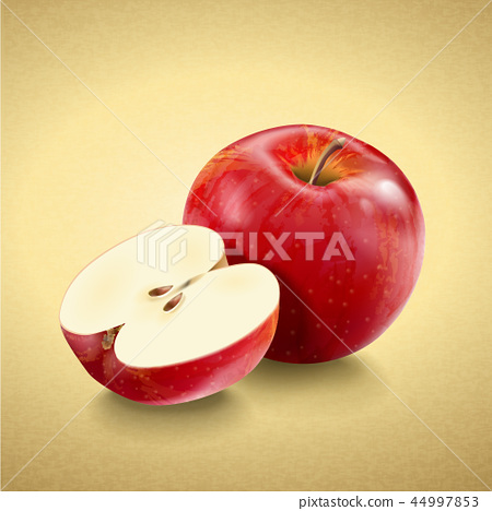 Fresh and delicious apple 44997853