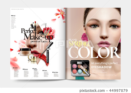 Cosmetic magazine ads 44997879
