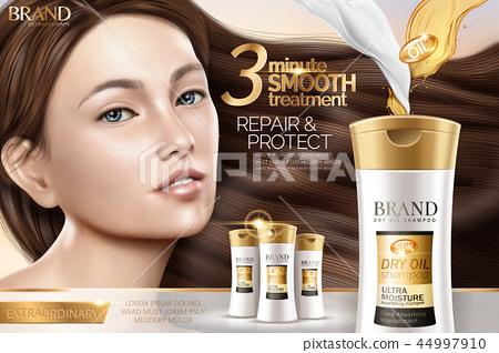Attractive shampoo ad 44997910