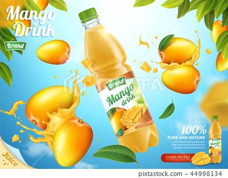 Mango bottled juice 44998134