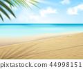 Bokeh beach scene 44998151