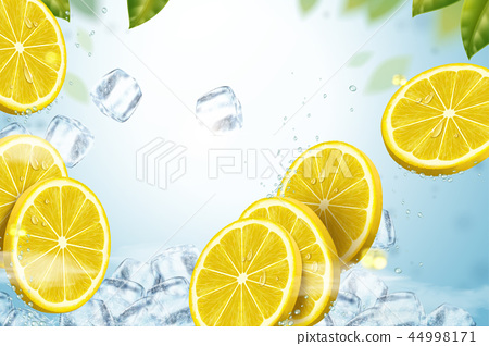 Refreshing fruit background 44998171