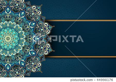 Exquisite arabesque card 44998176