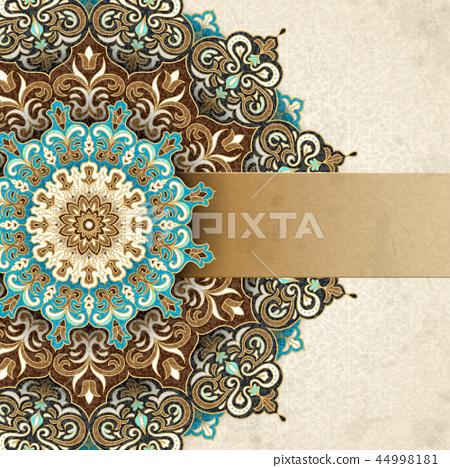 Exquisite arabesque card 44998181