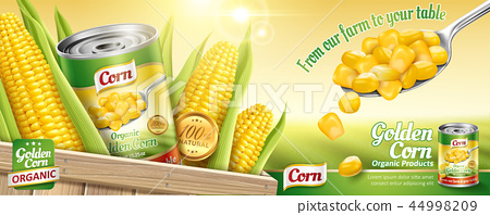 Organic canned corn ads 44998209