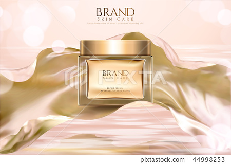 Cosmetic skincare product ads 44998253