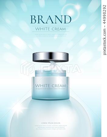 White cream product ads 44998292