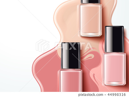 Fashion pink nail lacquer 44998316